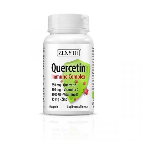 Supliment alimentar, Quercetina, Quercetin Immune Complex - 30 capsule [0]