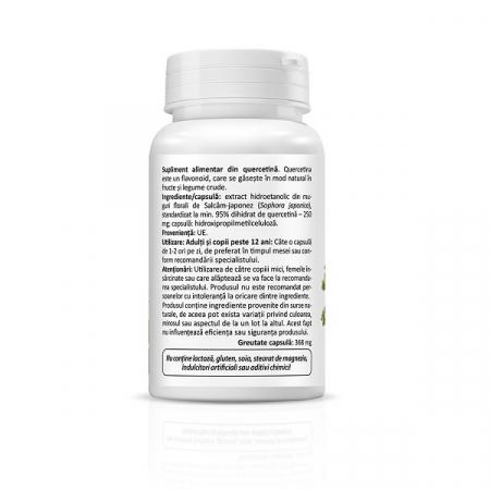 Supliment alimentar, Quercetina, Quercetin Mini (250 mg) - 30 capsule [2]