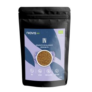 Seminte de IN zdrobite Ecologice/Bio - 250 g [1]