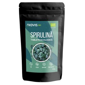 Spirulina Tablete Ecologice/BIO - 125 g [1]