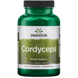 Supliment alimentar, Swanson Cordyceps (1200 mg) - 120 capsule (60 doze) [0]