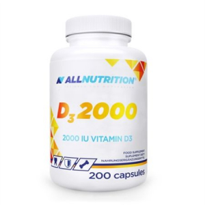 Vitamina D3, Vitamin D3 2000 mcg - 200 capsule moi (200 doze)