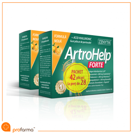 Pachet Promotional, ArtroHelp Forte, Zenyth - 42 plicuri [0]