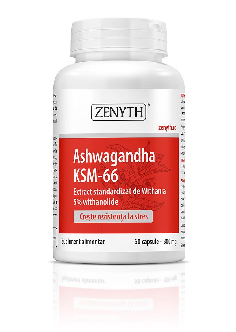Comanda Ashwagandha KSM - supliment alimentar Cosmopharm