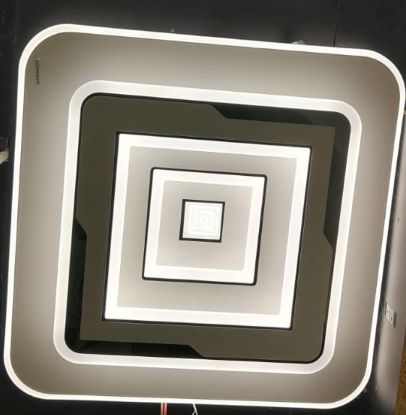 Lustra led dimabila 120w cu telecomanda 3 functii [1]