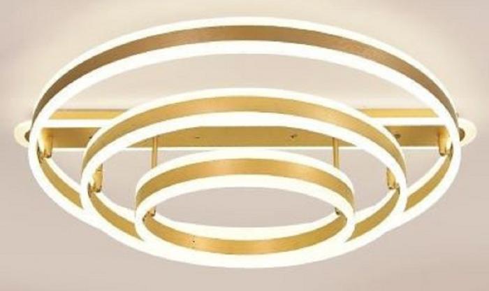 Lustra LED 390W dimabila cu telecomanda 4 functii [0]