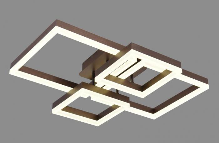Lustra led dimabila 140w cu telecomanda 3 functii Maro [0]