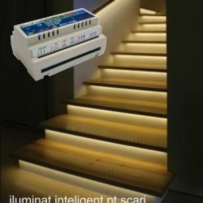Controler RGB iluminat inteligent scari 1