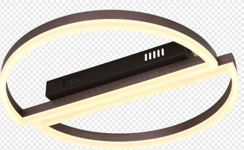 Lustra led dimabila 100w cu telecomanda 3 functii maro [0]