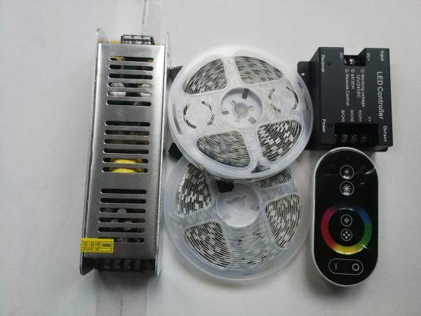 Kit banda led RGB 10m 120buc/m 0