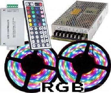 Kit banda LED RGB 10m 144w 0
