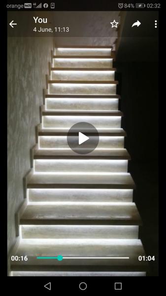 Kit iluminat inteligent pentru scari 3