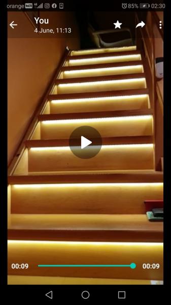 Kit iluminat inteligent pentru scari 1