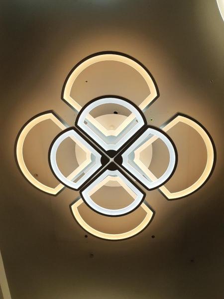 Lustra LED dimabila 160w cu telecomanda 4 functii 0