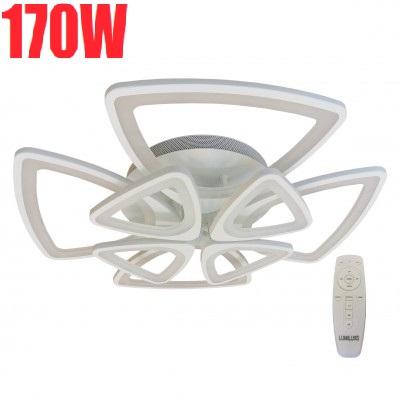 Lustra LED dimabila 170w cu telecomanda 3 functii 0
