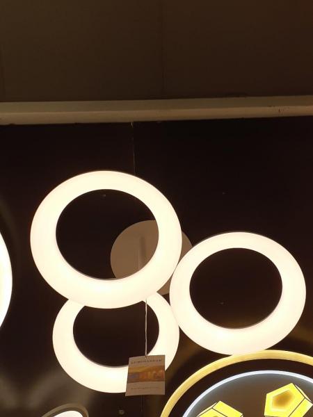Lustra LED dimabila 54w 3 functii cu telecomanda 0