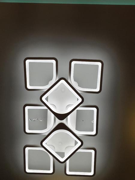 Lustra LED dimabila 120w cu telecomanda si app 4 functii 0