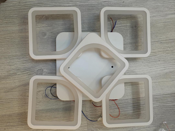 Lustra LED dimabila 82w cu telecomanda si app 4 functii 0