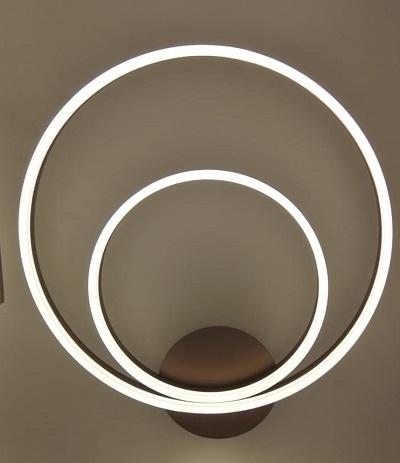 Lustra LED dimabila 80w cu telecomanda 3 functii 0