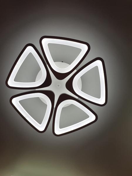 Lustra LED dimabila 100w cu telecomanda 3 functii 0