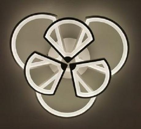 Lustra LED dimabila 140W cu telecomanda 4 functii 1