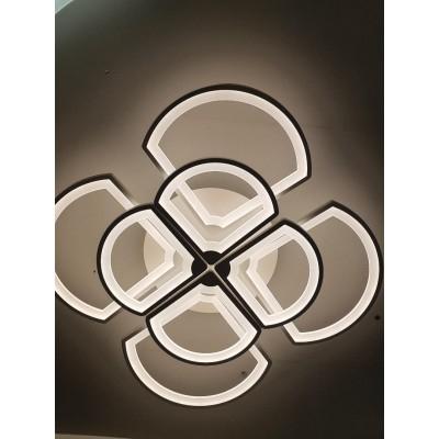 Lustra LED dimabila 200W 4 functii cu telecomanda 1