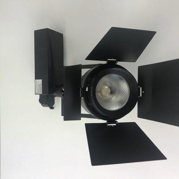 Proiector led 30W negru pentru magazin 0