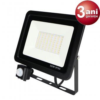 Proiector LED cu Senzor 50W 0