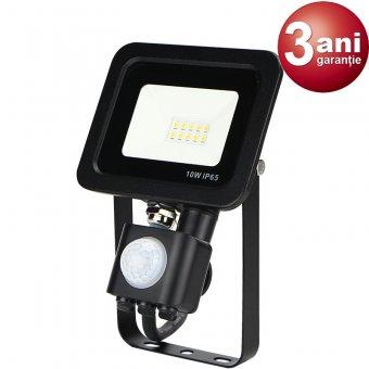 Proiector LED cu senzor 10W 0