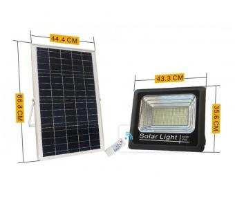 Proiector led 300w solar cu telecomanda [0]