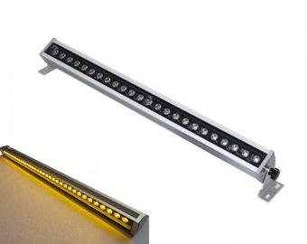 Proiector liniar LED 24w lumina alba calda 1m 0