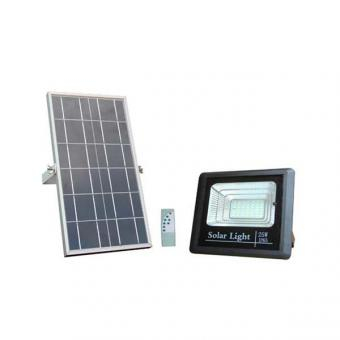 Proiector led 25w solar cu telecomanda [0]