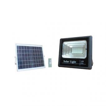 Proiector led 40w solar cu telecomanda 0
