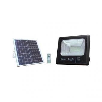 Proiector led 60w solar cu telecomanda [0]