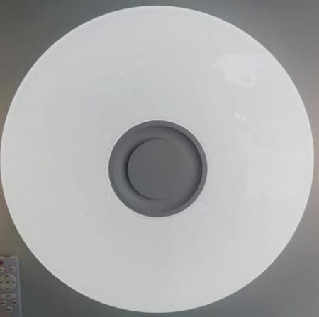 Aplica LED dimabila cu difuzor, bluetooth 72W RGB CCT [0]