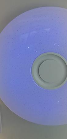 Aplica LED dimabila cu difuzor, bluetooth 72W RGB CCT [1]