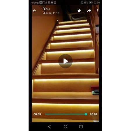 Kit Banda LED Iluminat Inteligent Trepte [0]