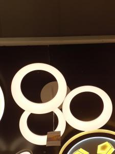 Lustra LED dimabila 54w 3 functii cu telecomanda0