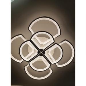 Lustra LED dimabila 200W 4 functii cu telecomanda1