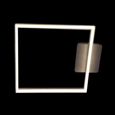 Lustra LED dimabila 80w cu telecomanda 3 functii wenge0