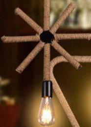 Pendul rustic geometrie [4]