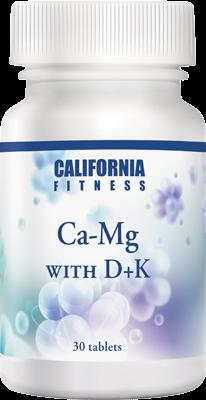 CaliVita CA-MG with D+K (30 tablete) Calciu, magneziu, vitaminele D3 și K [0]
