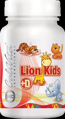 Lion Kids + Vitamin D (90 tablete masticabile) Multivitamine pentru copii [0]