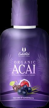 Organic Acai (473 ml) Acai organic cu suc organic de mere şi suc organic de cireşe negre [0]