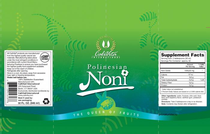 Polinesian Noni Liquid (946 ml) Suc de fructe noni [1]