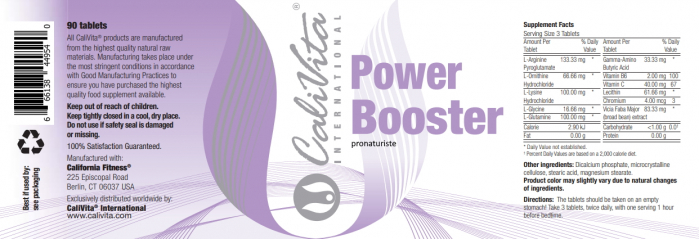Power Booster (90 tablete) Stimulant natural pentru creştere [1]
