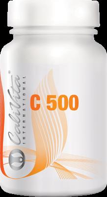 Vitamina C 500 CaliVita (100 tablete) Doză crescută de vitamina C [0]