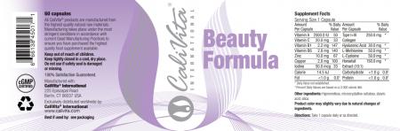 Beauty Formula CaliVita (60 tablete) Vitamine pentru frumusețe [2]