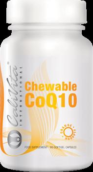 Chewable Co Q10 Orange Flavour CaliVita (60 capsule gelatinoase masticabile) coenzima Q10 aromată0
