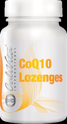 CoQ10 Lozenges CaliVita (30 tablete sublinguale) Coenzima Q10 cu absorbţie rapidă0